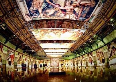 Michelangelo's Sistine Chapel Exhibit is here in Garden Grove near Little Saigon