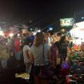 Asian Garden Night Market Crowd