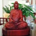 Vietnam Wooden Buddha Statue Image 1
