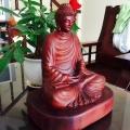 Vietnam Wooden Buddha Statue Image 2
