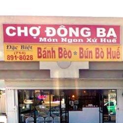 Cho Dong Ba - Mon Ngon Xu Hue
