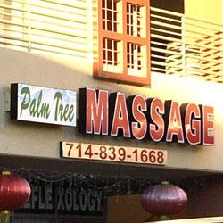 Palm Tree Foot Massage